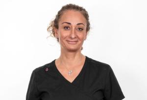 Tandsköterska Caroline Mouradian