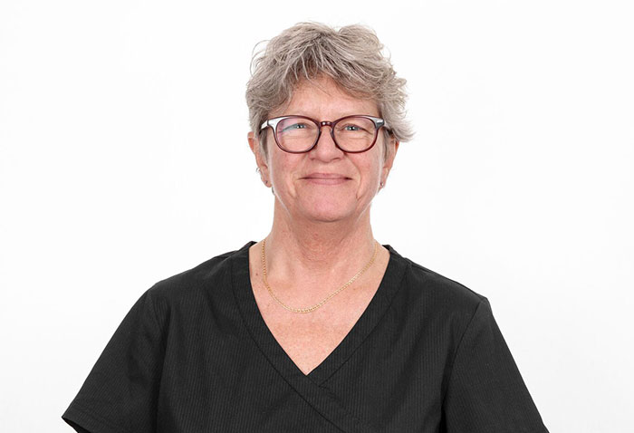 Tandsköterska Mia Salétros