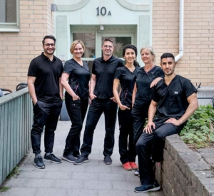 Gruppbild tandläkare narkoskliniken