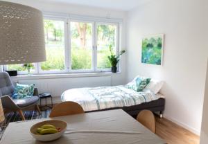 sovrum i vår lägenhet för övernattning