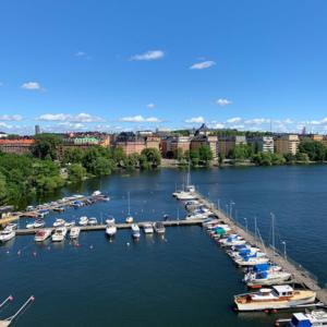 utsikt över kungsholmen